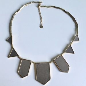 House of Harlow Signature Starburst Necklace Taupe